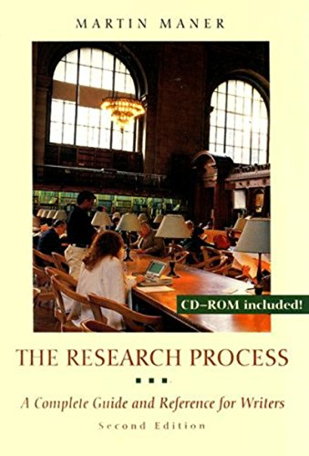 9780767411394: The Research Process: A Complete Guide and Reference for Writers