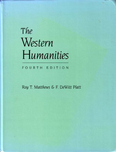 9780767415934: Western Humanities, Complete, Cloth Version