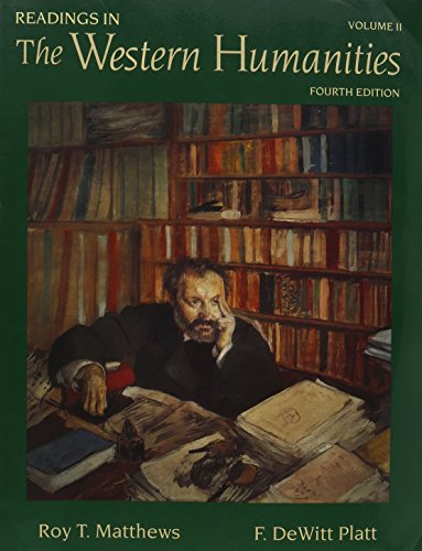 9780767415972: Readings in the Western Humanities, Volume 2