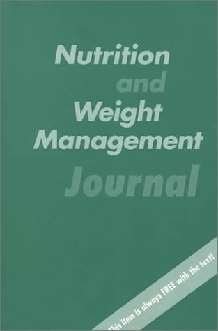9780767417143: Nutrition and Weight Management Journal