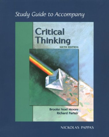 9780767418171: Study Guide t/a Critical Thinking