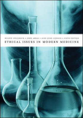 ethics modern medicine One of the first academic books on the philosophy of medicine in modern terms was elisha bartlett's philosophy and ethics of medicine, vol 1.
