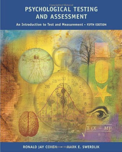 9780767421577: Psychological Testing and Assessment: An Introduction To Tests and Measurement