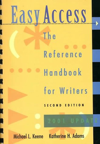 9780767421898: Easy Access: The Reference Handbook for Writers