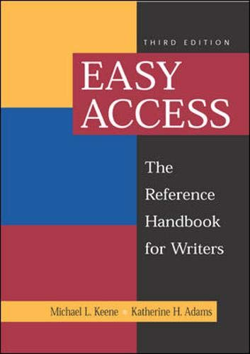9780767422819: Easy Access: The Reference Handbook for Writers