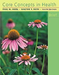 9780767425582: Core Concepts in Health BRIEF (CD-ROM included)