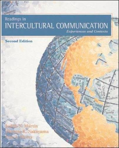 9780767427166: Readings in Intercultural Communication: Experiences and Contexts