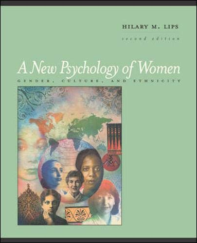 9780767429849: A New Psychology of Women: Gender, Culture, and Ethnicity