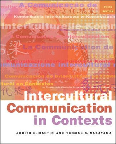 9780767430135: Intercultural Communication in Contexts