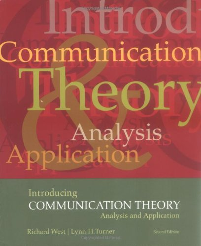 Introducing Communication Theory: Analysis and Application (NAI): Richard L West,