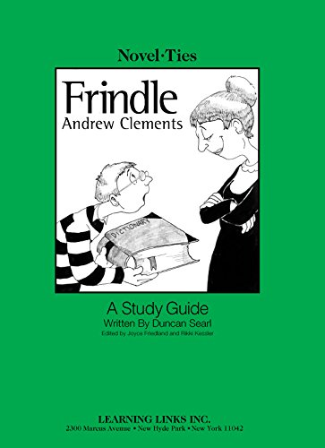 9780767506014: Frindle: Novel-Ties Study Guide