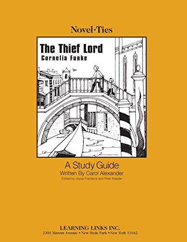 9780767520850: Thief Lord: Novel-Ties Study Guide