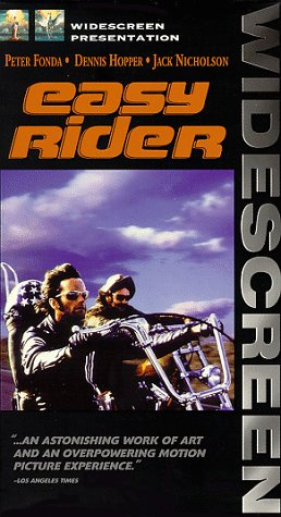 9780767805537: Easy Rider (Widescreen Edition) [VHS]