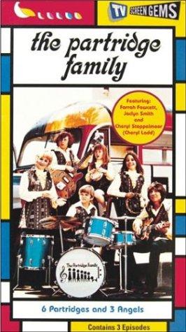 9780767813303: Partridge Family: 6 Partridges & 3 Angels [VHS]