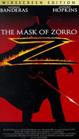 9780767825375: The Mask of Zorro (Widescreen Edition) [VHS]