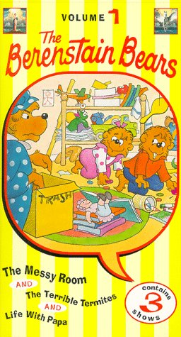 9780767829830: Berenstain Bears Vol 1: The Messy Room [VHS]