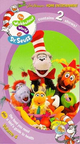 9780767830423: The Wubbulous World of Dr. Seuss - Volume 4 [VHS]