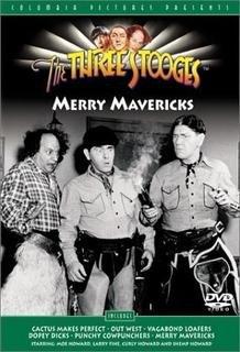9780767862011: The Three Stooges - Merry Mavericks