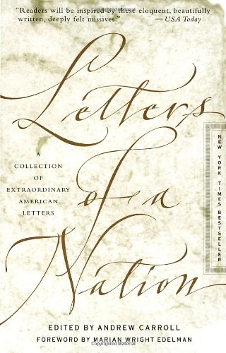 9780767903318: Letters of a Nation