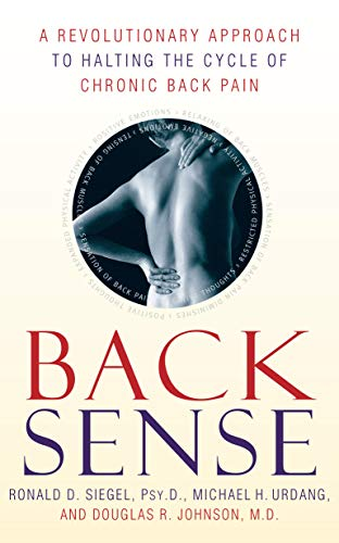9780767905817: Back Sense: A Revolutionary Approach to Halting the Cycle of Chronic Back Pain