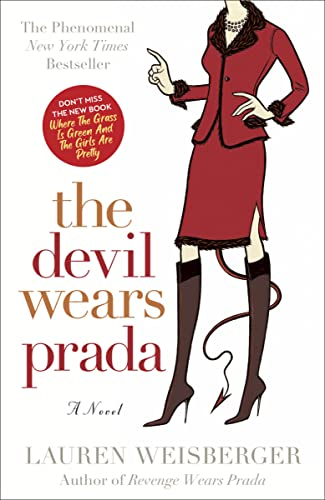 "The Devil Wears Prada A Novel 9780767914765 A delightfully dishy novel about the all-time most impossible boss in the history of impossible bosses and the basis for the major motion picture starring Anne Hathaway and Meryl Streep. Andrea Sachs, a small-town girl fresh out of college, lands the job ""a million girls would die for."" Hired as the assistant to Miranda Priestly, the high-profile, fabulously successful editor of Runway magazine, Andrea finds herself in an office that shouts Prada! Armani! Versace! at every turn, a world populated by impossibly thin, heart-wrenchingly stylish women and beautiful men clad in fine-ribbed turtlenecks and tight leather pants that show off their lifelong dedication to the gym. With breathtaking ease, Miranda can turn each and every one of these hip sophisticates into a scared, whimpering child. The Devil Wears Prada gives a rich and hilarious new meaning to complaints about  The Boss from Hell.  Narrated in Andrea's smart, refreshingly disarming voice, it traces a deep, dark, devilish view of life at the top only hinted at in gossip columns and over Cosmopolitans at the trendiest cocktail parties. From sending the latest, not-yet-in-stores Harry Potter to Miranda's children in Paris by private jet, to locating an unnamed antique store where Miranda had at some point admired a vintage dresser, to serving lattes to Miranda at precisely the piping hot temperature she prefers, Andrea is sorely tested each and every day—and often late into the night with orders barked over the phone. She puts up with it all by keeping her eyes on the prize: a recommendation from Miranda that will get Andrea a top job at any magazine of her choosing. As things escalate from the merely unacceptable to the downright outrageous, however, Andrea begins to realize that the job a million girls would die for may just kill her. And even if she survives, she has to decide whether or not the job is worth the price of her soul."