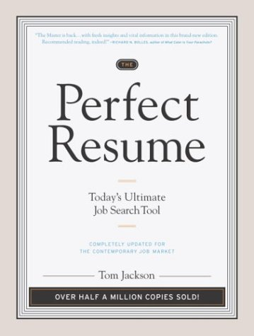 9780767916233: The Perfect Resume: Today's Ultimate Job Search Tool