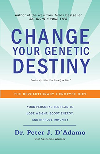 9780767925259: Change Your Genetic Destiny: The Revolutionary Genotype Diet