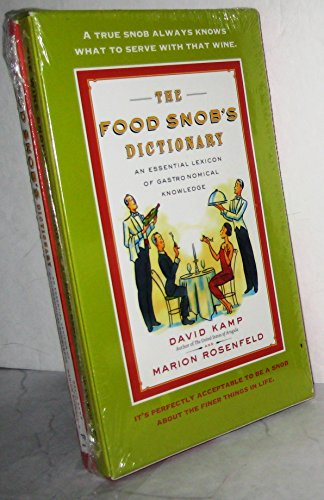 The Wine Snob's Dictionary Boxed Set
