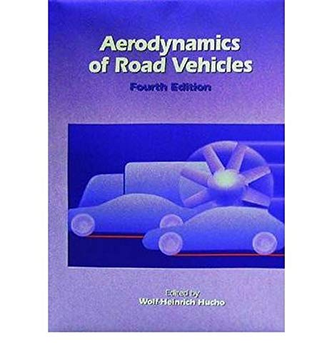 9780768000290: Aerodynamics of Road Vehicles: From Fluid Mechanics to Vehicle Engineering