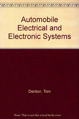 9780768002713: Automobile Electrical and Electronic Systems