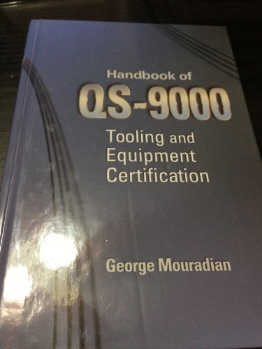 9780768005271: Handbook of Qs-9000 Tooling and Equipment Certification