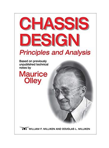 9780768008265: Chassis Design: Principles and Analysis