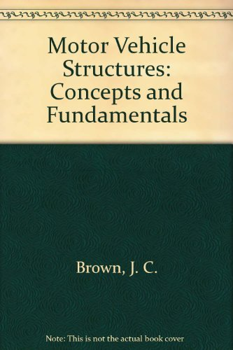 9780768009095: Motor Vehicle Structures: Concepts and Fundamentals