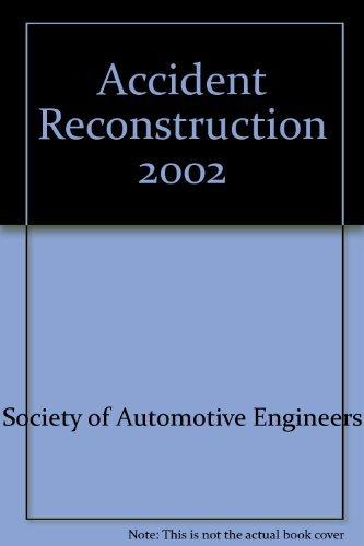 9780768009347: Accident Reconstruction 2002