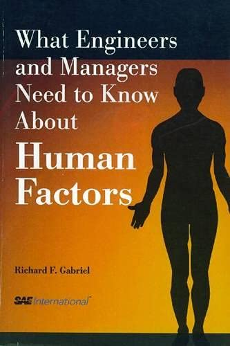 9780768009750: What Engineers and Managers Need to Know About Human Factors
