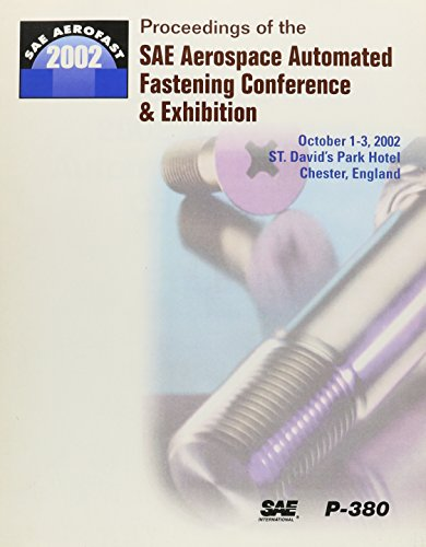 9780768010824: Proceedings of the 2002 Sae Aerospace Automated Fastening Conference and Exhibition