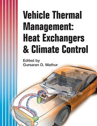 9780768014457: Vehicle Thermal Management: Heat Exchangers & Climate Control (Progress in Technology)