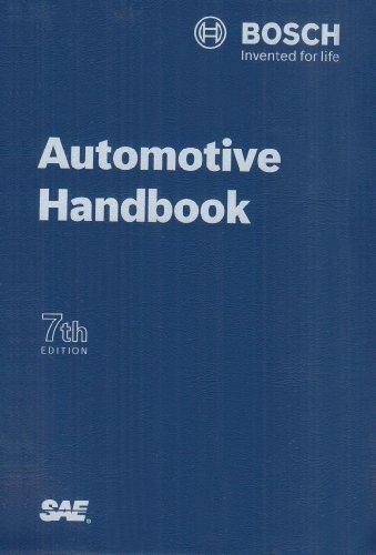 9780768019537: Automotive Handbook