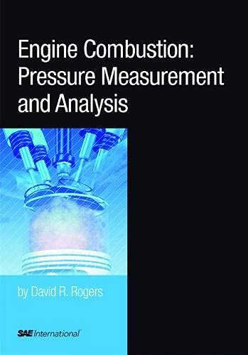 9780768019636: Engine Combustion: Pressure Measurement and Analysis