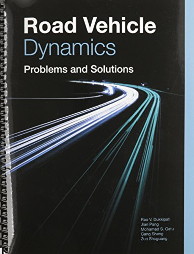 9780768020519: Road Vehicle Dynamics: Problems and Solutions (R-386)