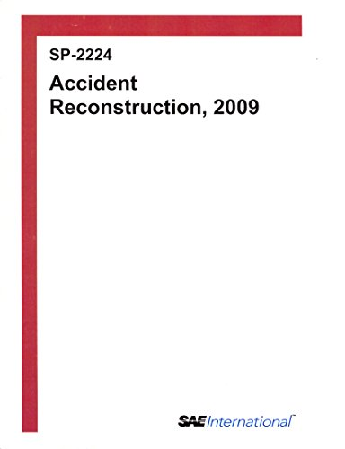 Accident Reconstruction, 2009: Society of Automotive Engineers [Contributor]