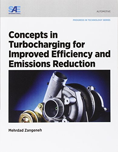 9780768079760: Concepts in Turbocharging for Improved Efficiency and Emissions Reduction