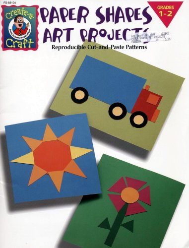 9780768201482: Paper Shapes Art Projects