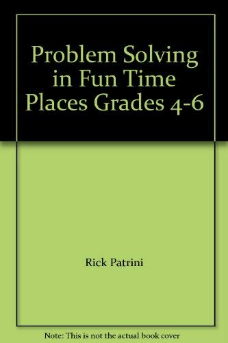 9780768201703: Problem Solving in Fun Time Places Grades 4-6