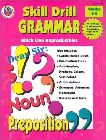 9780768203325: Skill Drill Grammar, Grades 5 to 6