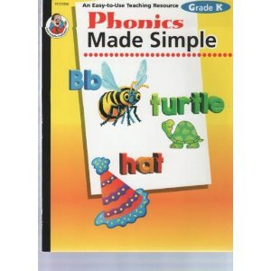 Phonics Made Simple, Grade K: Carson-Dellosa Publishing