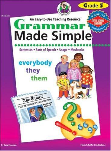 9780768203639: Grammar Made Simple, Grade 5