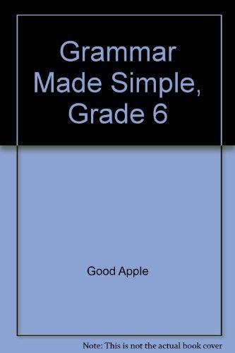 9780768203646: Grammar Made Simple, Grade 6