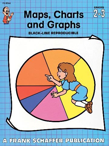9780768205138: Maps, Charts and Graphs, Grades 2 to 3