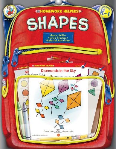 9780768206807: Shapes, Grades PK - 1 (Homework Helper)